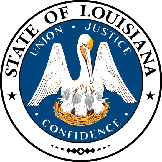 Louisiana sos seal