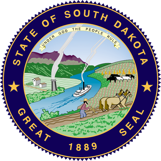 South Dakota sos seal