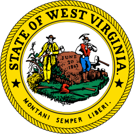 West Virginia sos seal