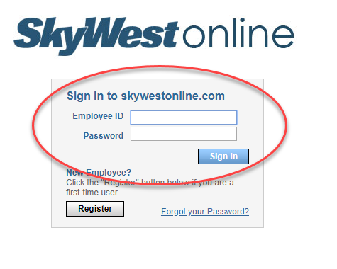 How to create a skywestonline account