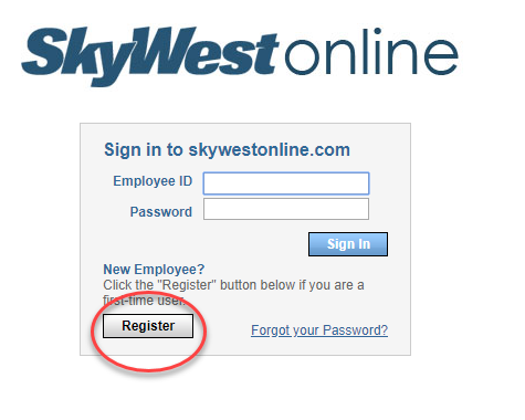 skywestonline signup