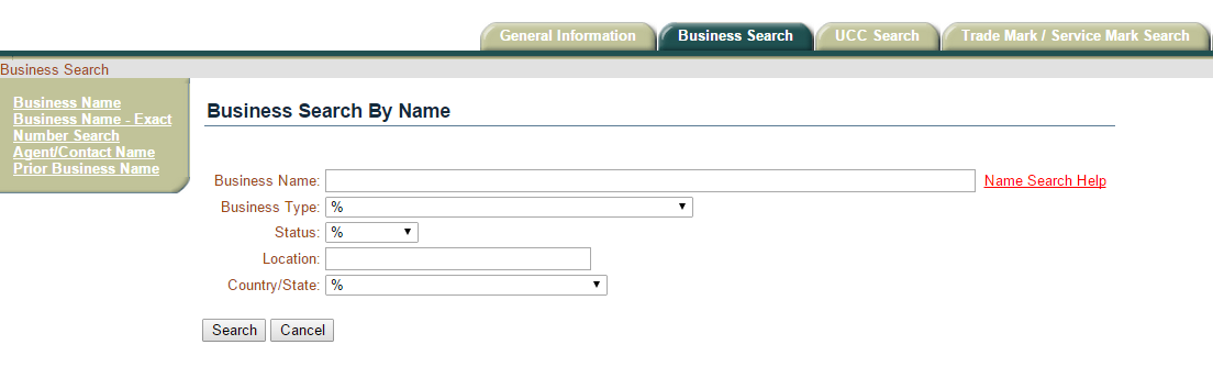 Secretary of state oklahoma ucc search