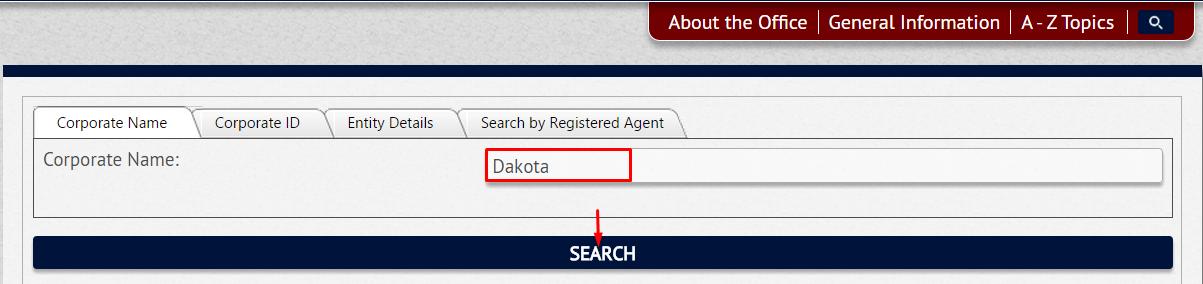 South Dakota Secretary of State - SOS Business Search