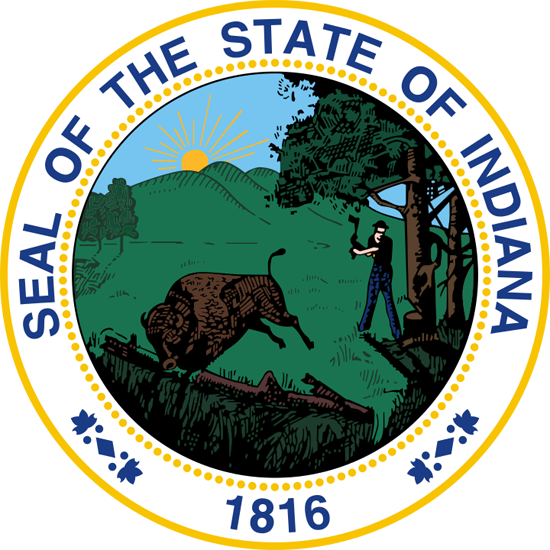 Indiana sos seal