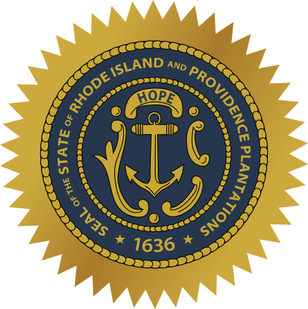 Rhode Island sos seal