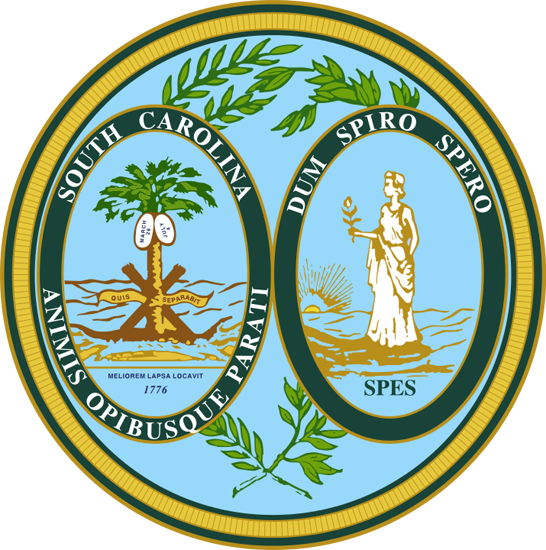 South Carolina sos seal