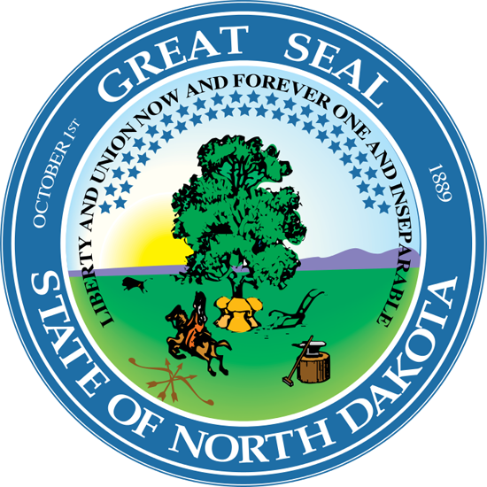 north dakota SOS seal
