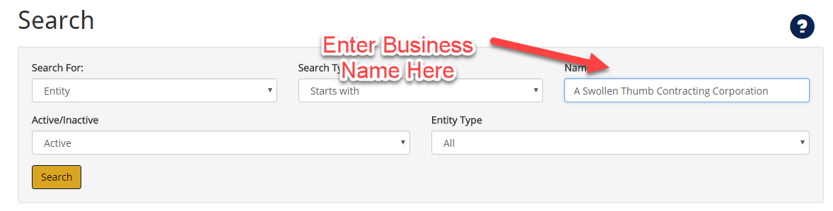 Arizona Business Eny Name Search | Step-by-Step Guide