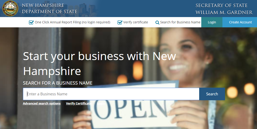 How to do a New Hampshire Business Entity Search